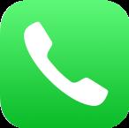 電話ロゴ画像